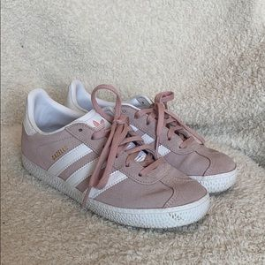 Kids Pink Adidas Gazelle